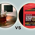 Blend vs full synthetic oil