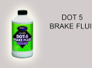 Compatibility of the DOT 5 Brake Fluid