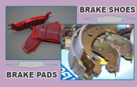 Brake Pads VS Brake Shoes Materials And Replacement Cost