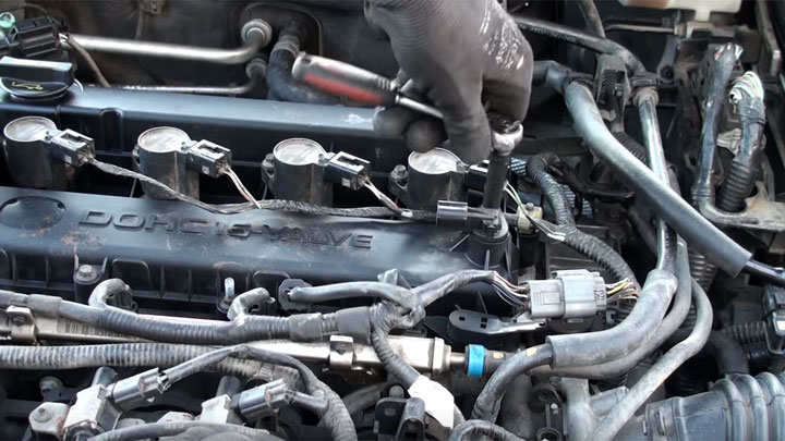camshaft position sensor replacement cost
