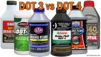 DOT 3 vs DOT 4 Brake Fluid (What's the Difference?)