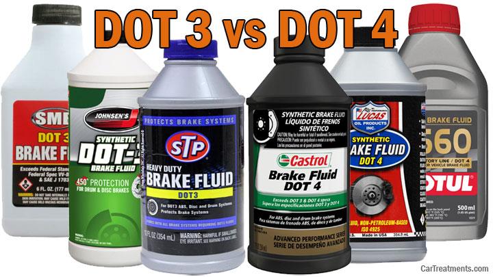 DOT 3 vs DOT 4