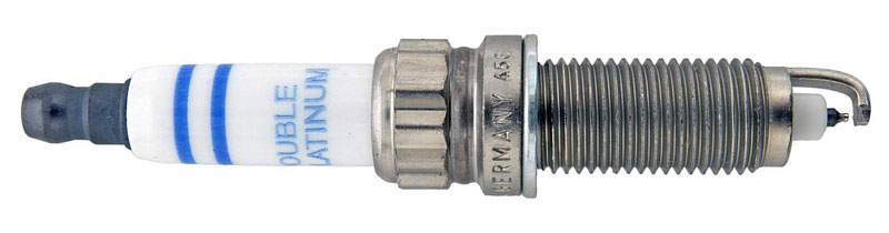 double platinum spark plug