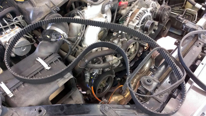 broken serpentine belt