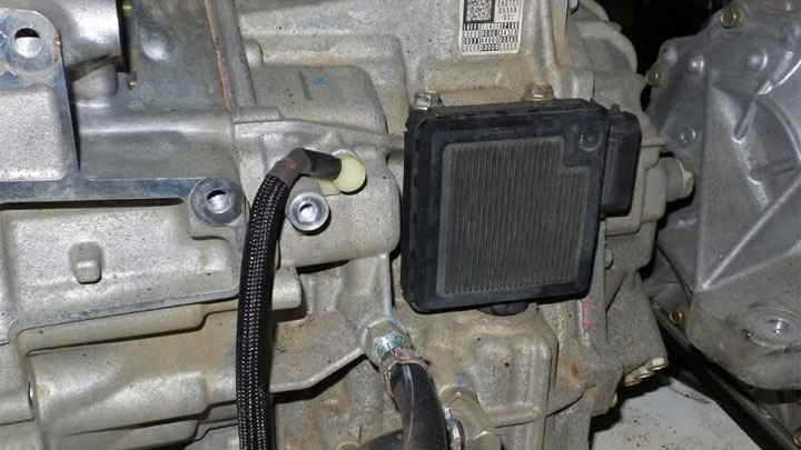symptoms of a bad transmission control module