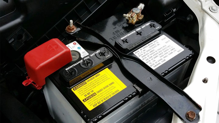 weak car battery