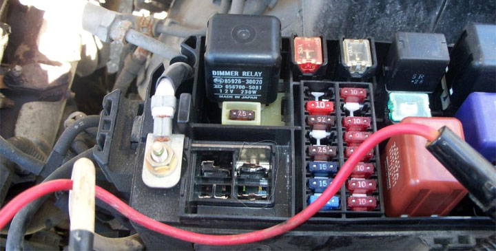 Alternate Wiring 12 Volt Fuse Box
