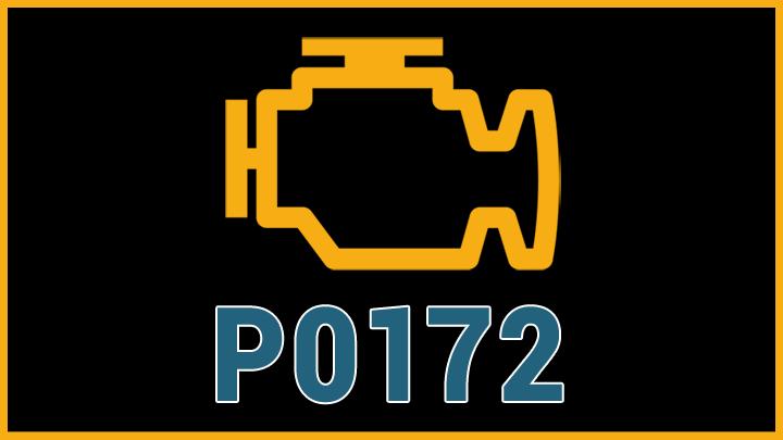 P0172 engine code