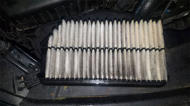 Why is There Oil in My Air Filter? (4 Common Causes)