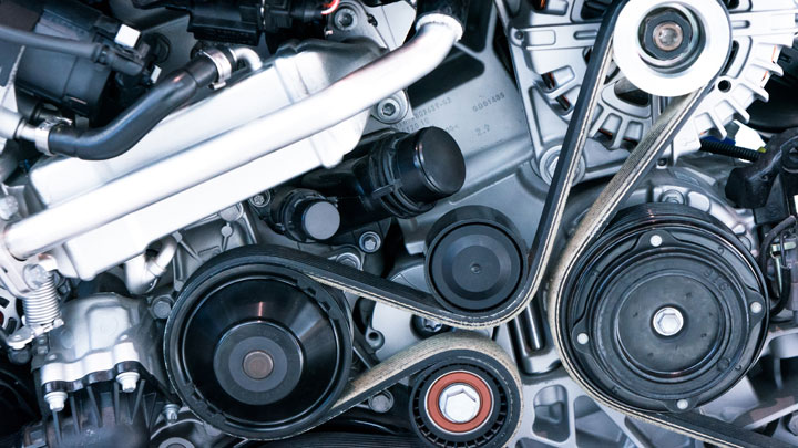 bad serpentine belt symptoms