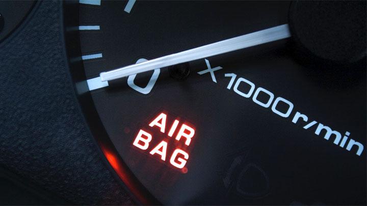 airbag light flashing