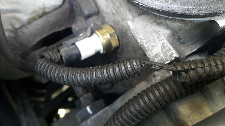 bad coolant temperature sensor symptoms