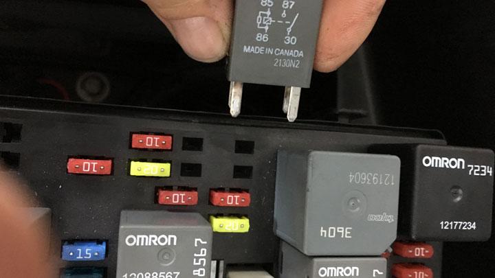 bad fuel pump relay