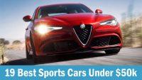 19 Best Sports Cars Under $50k