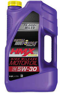 best synthetic oil for high mileage cars