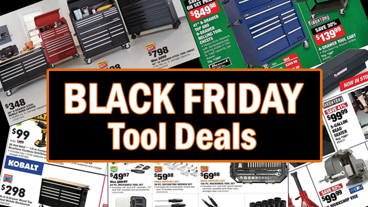 Black Friday tool deals
