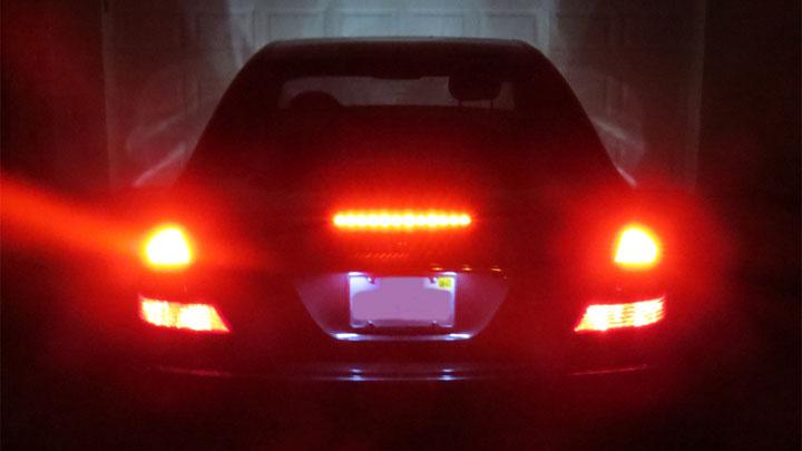 brake lights staying on