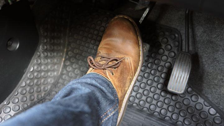 brake pedal hard to press