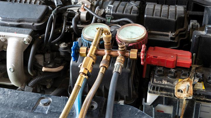 car A/C refrigerant