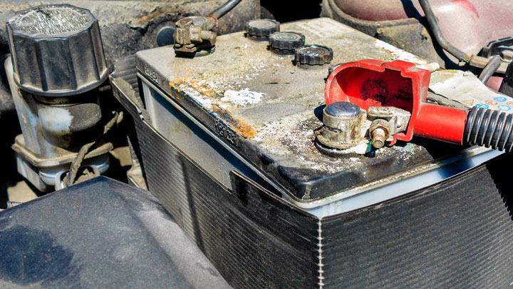 car battery age