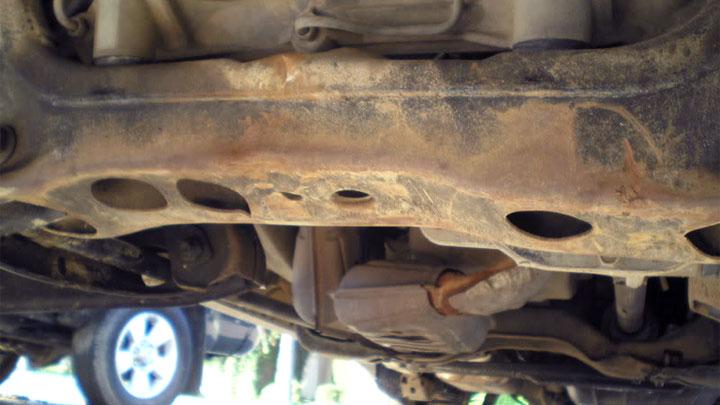 car structural damage