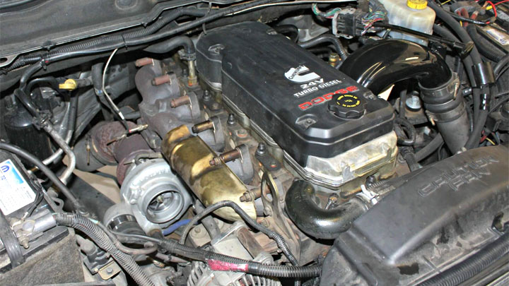 Cummins 5.9L diesel 24 valve