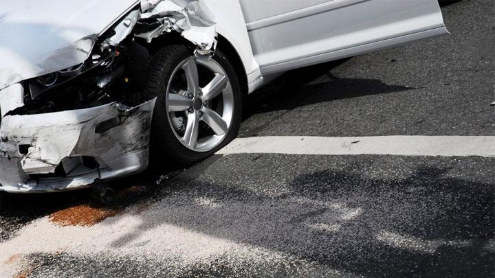 damaged wheel accident