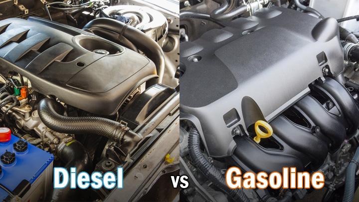 diesel vs gasoline engine