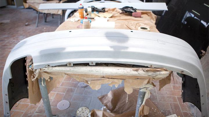 DIY bumper painting