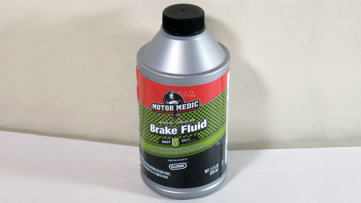 DOT 5 brake fluid compatibility