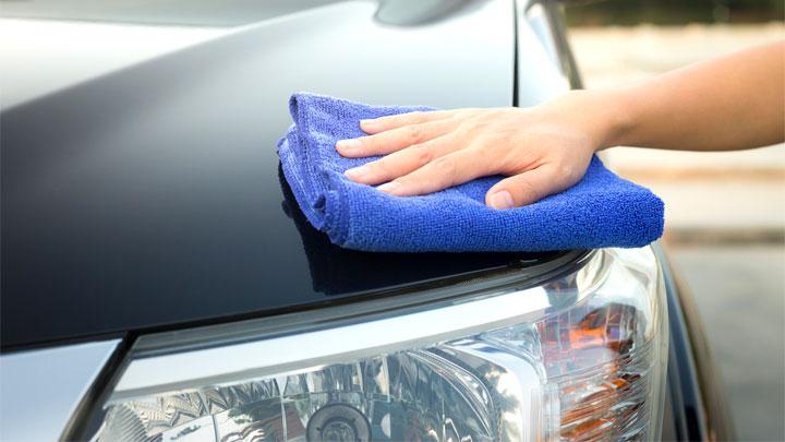 microfiber towel for drying car