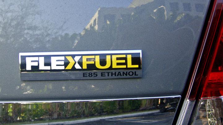 E85 flex fuel truck