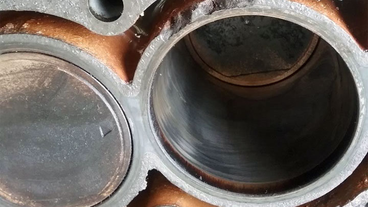 engine block damage