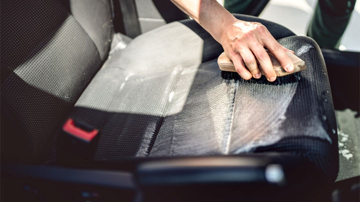 how to get rid of mold from car interior
