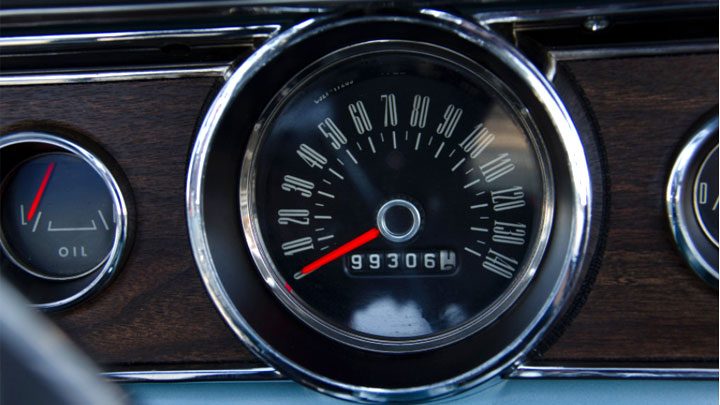 how cable speedometer works