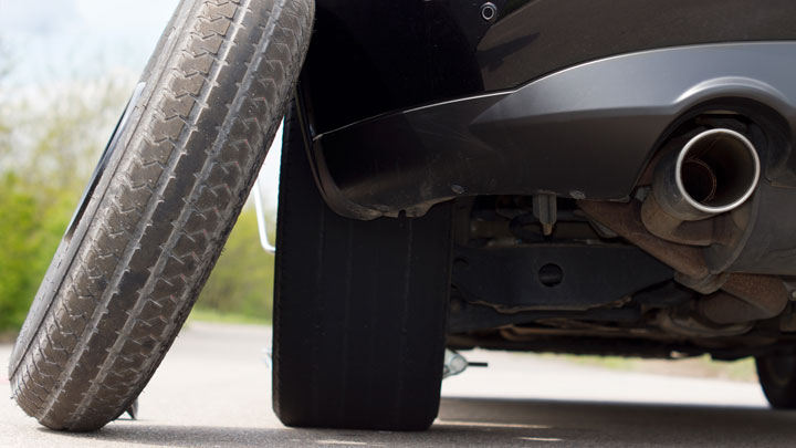 How Long (and Fast) Can You Drive on a Spare Tire?
