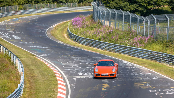 how to drive the Nurburgring