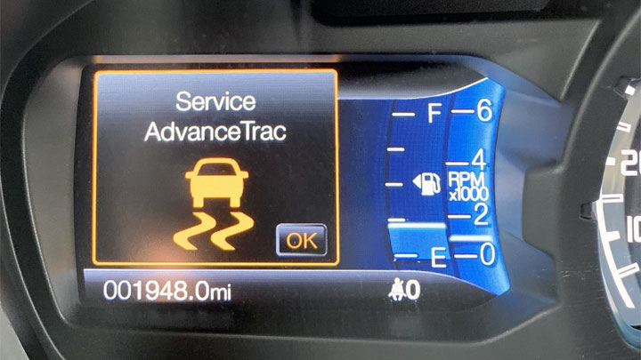 how to reset service AdvanceTrac