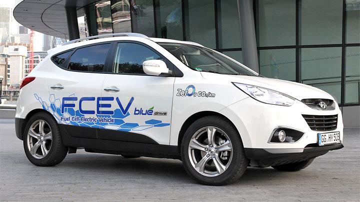 hydrogen vehicle advantages