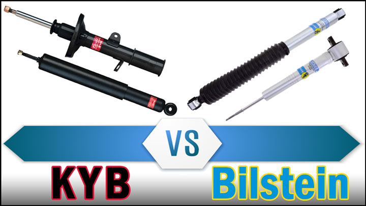 KYB vs. Bilstein (Shocks Comparison)