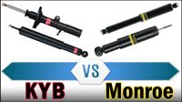 KYB vs Monroe (Shocks and Struts Comparison)