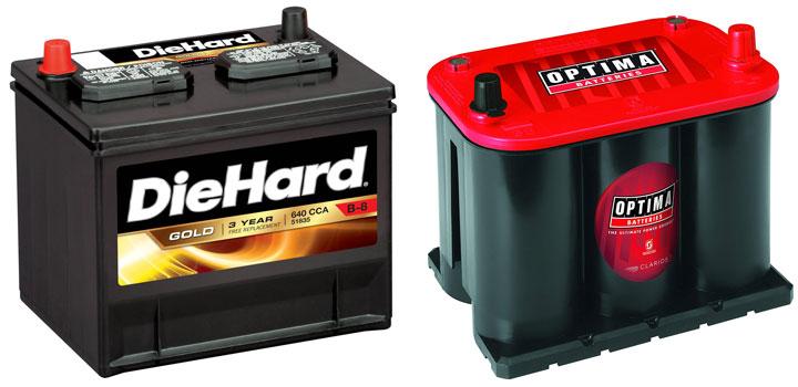 lead-acid vs AGM battery