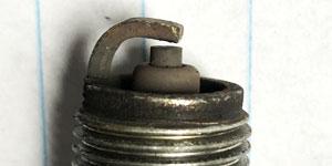 lead fouled spark plug