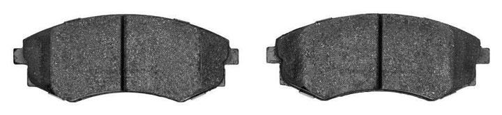 metallic brake pad material