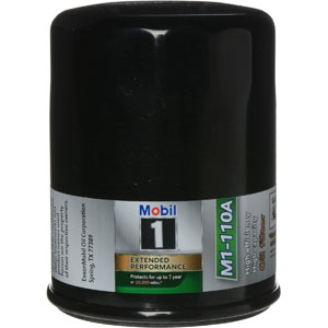 Mobil 1 synthetic oil filter