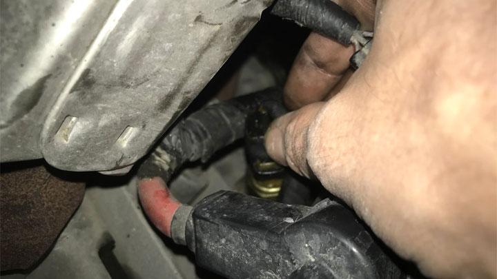 oil pressure sending unit