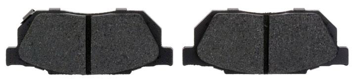 organic brake pad material