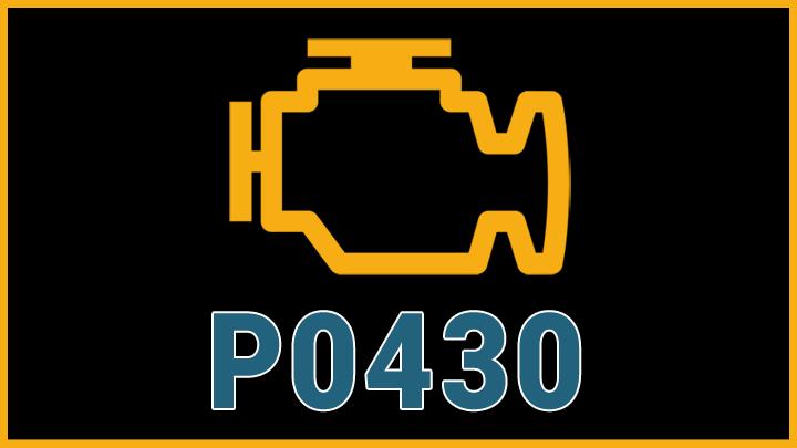 P0430 code