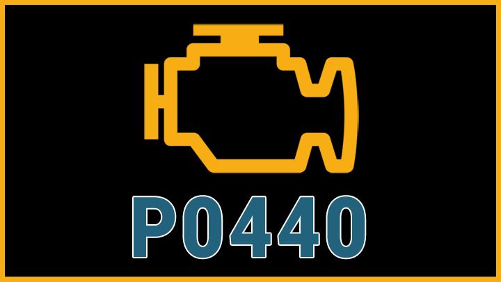 P0440 engine code