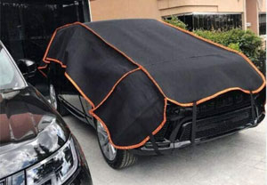 padded car cover
